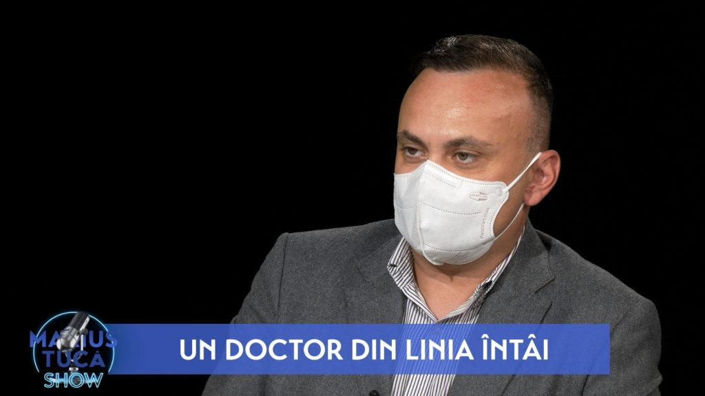 """Medicul Adrian Marinescu, la """"Marius Tucă Show"""": Aș înlocui lockdown-ul cu izolarea rapidă a celor pozitivi și aș testa cât mai mult"""