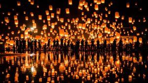 Festivalul Lampioanelor Thailanda