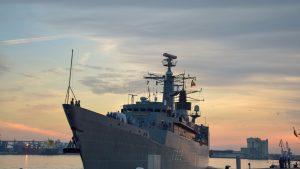 Fregata Regina Maria pleacă în a treia misiune NATO. 240 de marinari vor fi pe Marea Mediterană