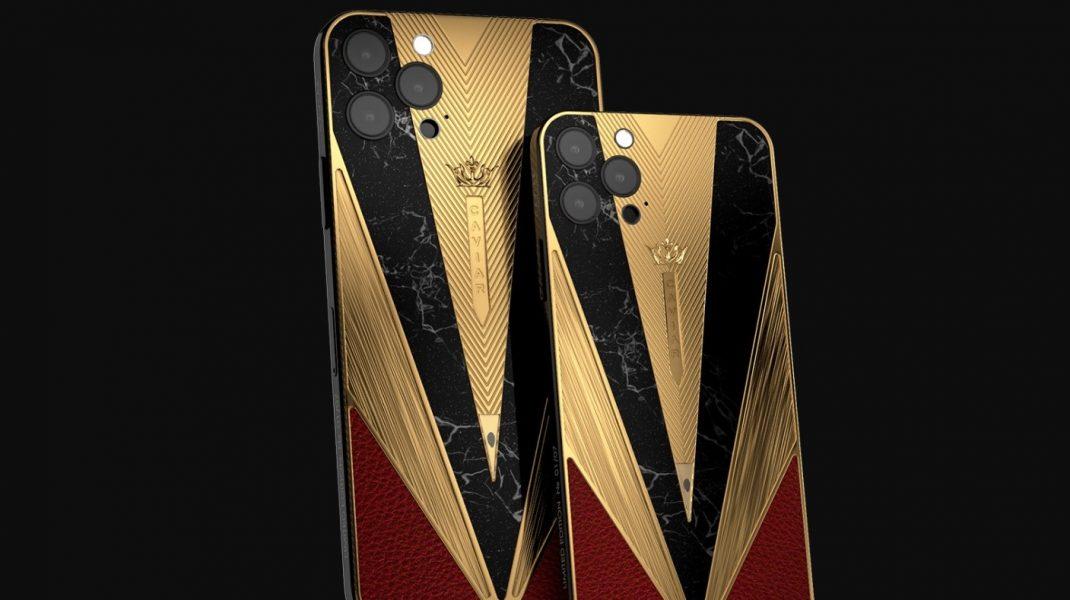 iPhone 12, varianta de lux. Cât costă modelele personalizate, inspirate din istorie, placate cu aur