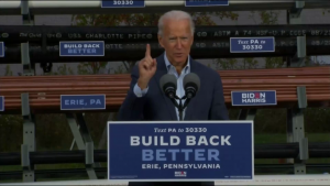 """Biden l-a criticat pe Trump: """"Vede lumea doar din Park Avenue. Eu o văd din Scranton și Claymont"""""""