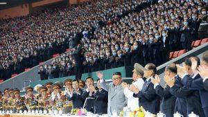150.000 de coreeni, prezenți la evenimentul dedicat Partidului Muncitoresc, organizat de Kim Jong-un