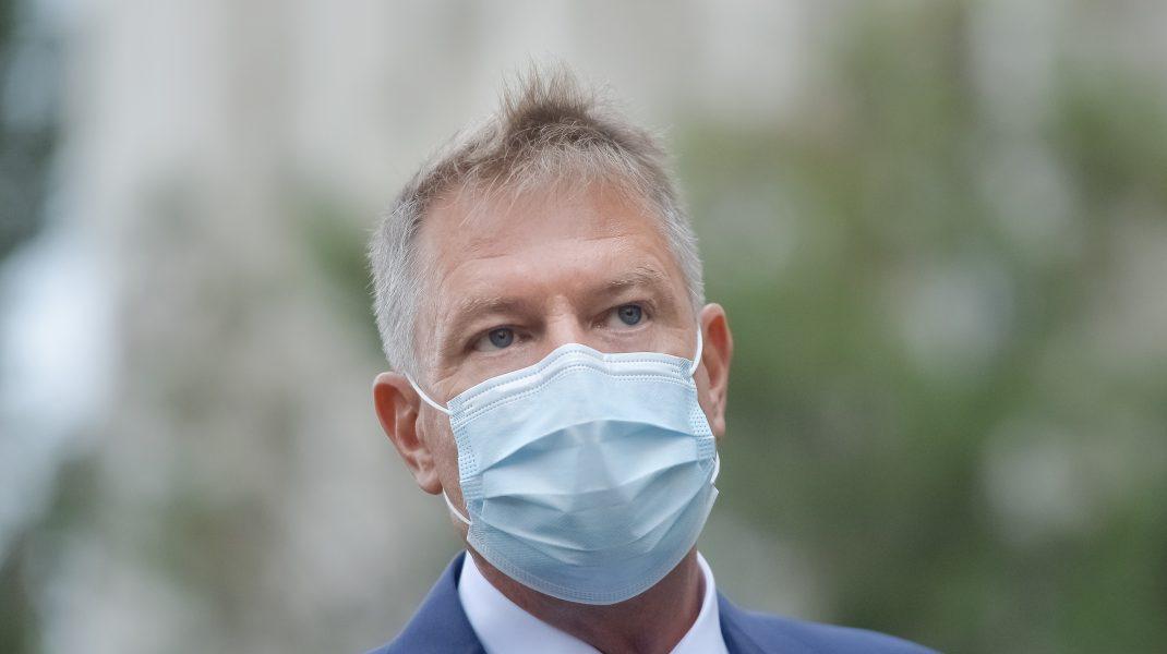 """Klaus Iohannis: """"123 de paturi ATI vor ajunge în București în maxim 10 zile"""""""