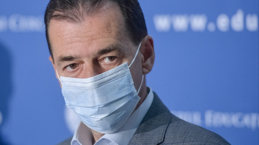 Ludovic Orban s-a testat de coronavirus