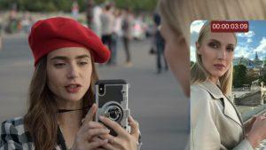O moldoveancă fierbinte defilează goală pe un pod din Paris într-o nouă producție Netflix