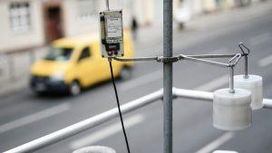 Sistem de monitorizare a calității aerului