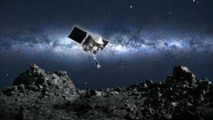 NASA a reuşit pentru prima dată să ia mostre de pe un asteroid din spaţiu