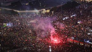 Proteste Varșovia