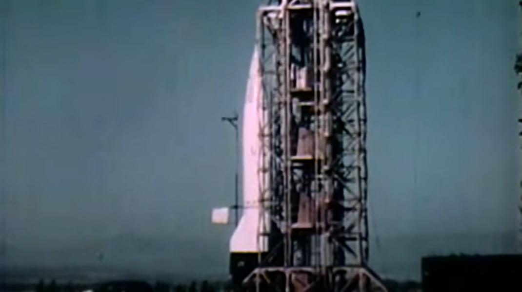 Primele imagini ale Pământului văzut din spațiu, fotografiate cu ajutorul unei rachete V2