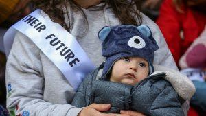 CLIMATE-CHANGE-CHILDREN-BABY