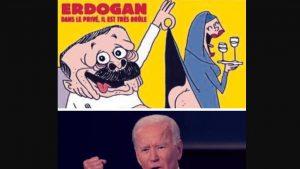 Comentariu Adrian Onciu. Libertatea de exprimare: Mahomed în fundul gol versus Joe Biden cu pumnul în gura presei