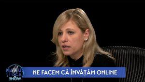 """Alina Cîrjă, directoarea Liceului Româno-Finlandez: """"Mi se pare o panică generalizată. Mi-e foarte teamă de dezumanizare"""""""