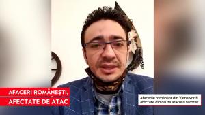 """Afaceri românești din Viena, afectate de atac. Antreprenor: """"Orice se putea întâmpla"""""""