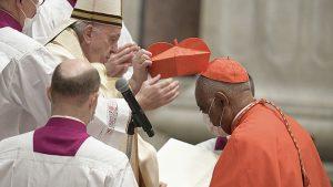 Papa a numit în funcție primul cardinal afro-american