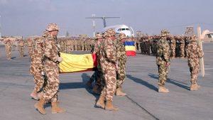 Comemorare primul militar român mort în Afganistan