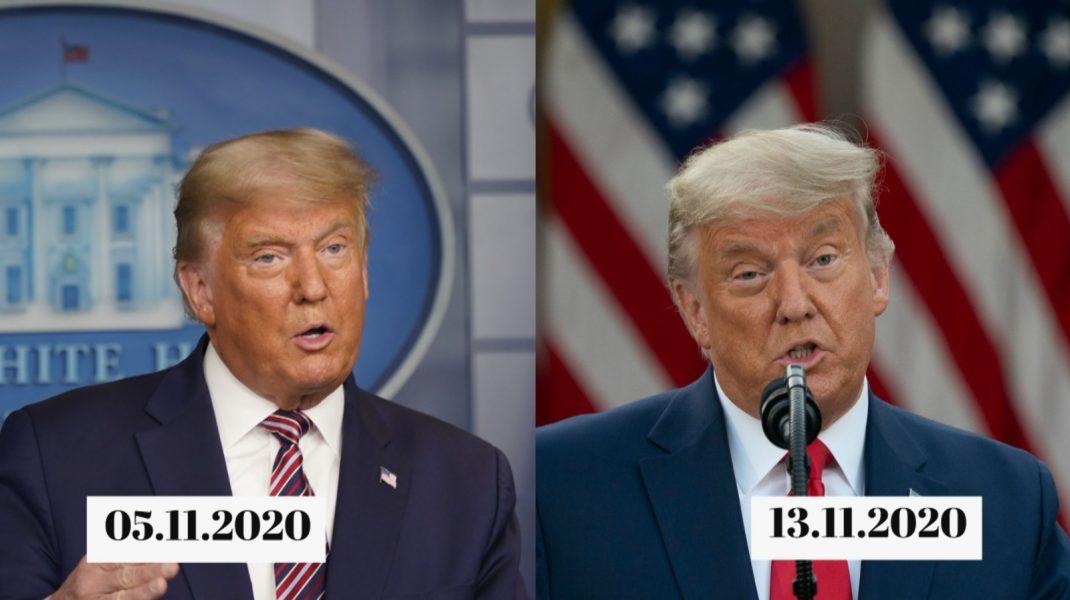 Frizură Donald Trump