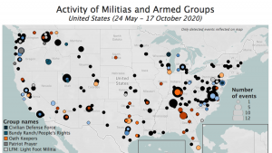 Hartă miliția SUA
