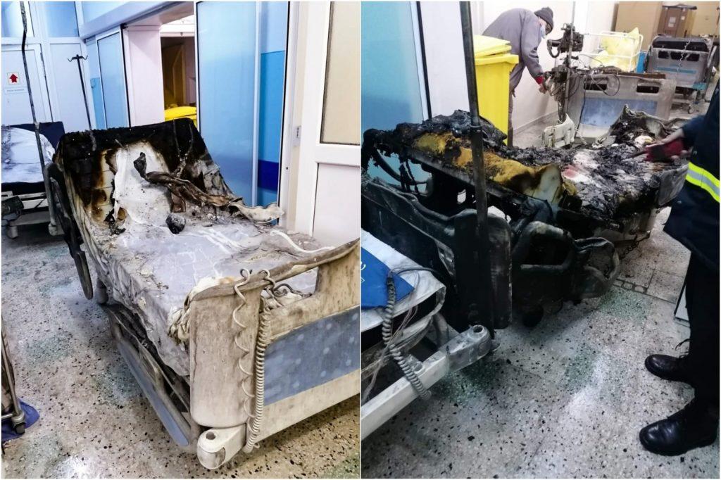 Procurorii au găsit sursa incendiului din Spitalul Piatra Neamț. Mai multe persoane sunt audiate