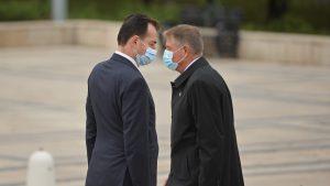 Klaus Iohannis și Ludovic Orban au avut o întâlnire informală la Vila Lac. Despre ce au discutat