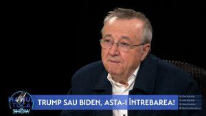 """Ion Cristoiu: """"Joe Biden va fi un continuator al politicii lui Trump, dar cu alte mijloace"""""""