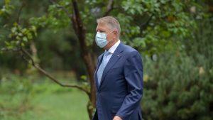 """Klaus Iohannis: """"Ambiția autorităților este să fie cu un pas înaintea pandemiei"""""""