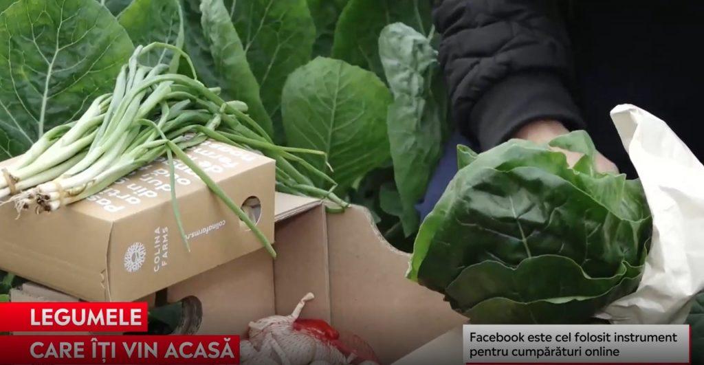 Cererea de legume bio comandate online şi livrate la domiciliu a crescut în pandemie