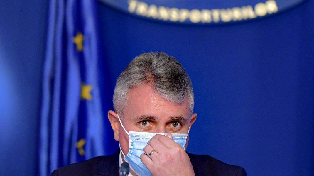 Lucian Bode, ministrul Transporturilor, infectat cu COVID-19. S-a izolat la domiciliu
