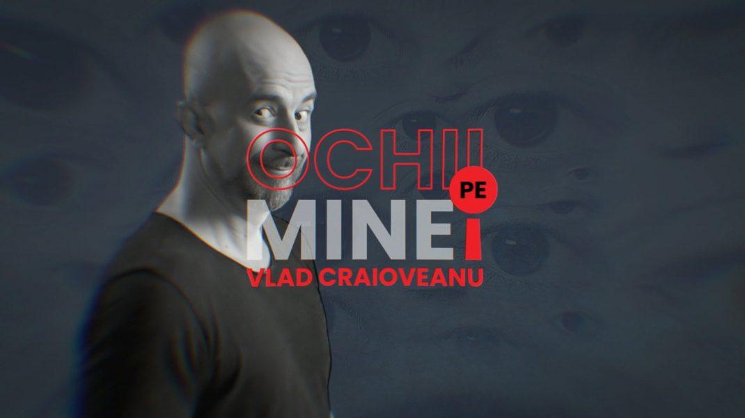 """""""Ochii pe mine!"""", invitați Cristian Diaconescu și Alexandra Ungureanu, de la ora 20:55, pe Aleph News"""