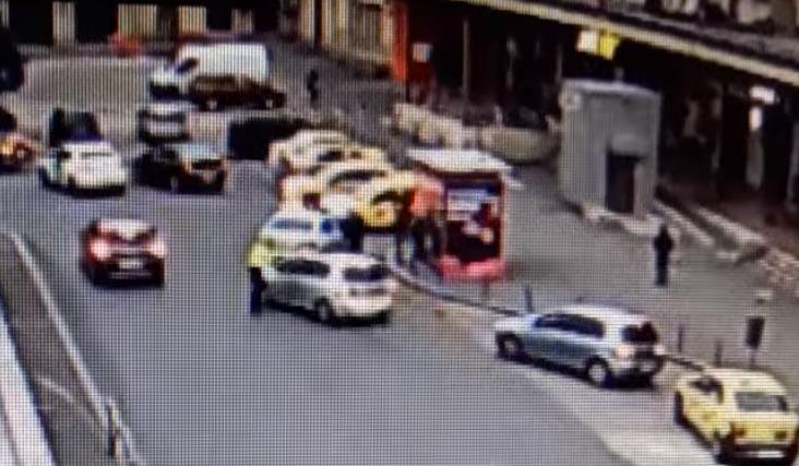 Polițist lovit la Gara de Nord