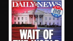 """""""Întreaga lume așteaptă"""". Incertitudinea electorală a ținut prima pagină a ziarelor din SUA"""