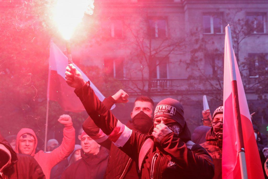 Violenţe în cursul unui marş de extremă-dreapta, în centrul Varşoviei