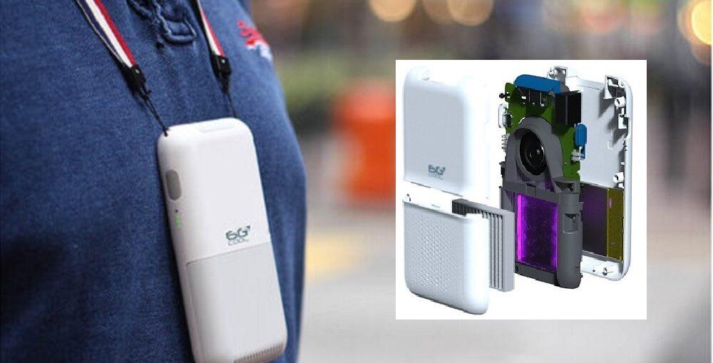 Un device inteligent de dimensiunea unui telefon, soluția poluării din București