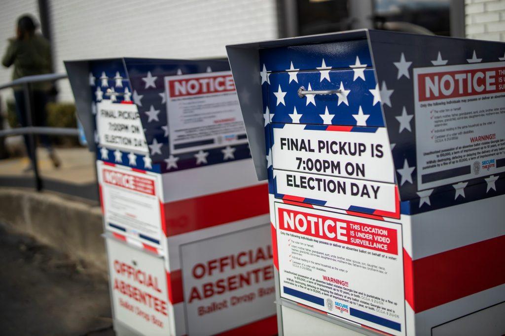 Vot prin corespondență SUA