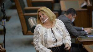 Diana Șoșoacă este noul președinte al Comisiei pentru abuzuri din Senat