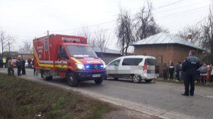 Accident rutier în Teleorman: Patru persoane au fost lovite de o mașină. Trei dintre ele sunt în stare gravă