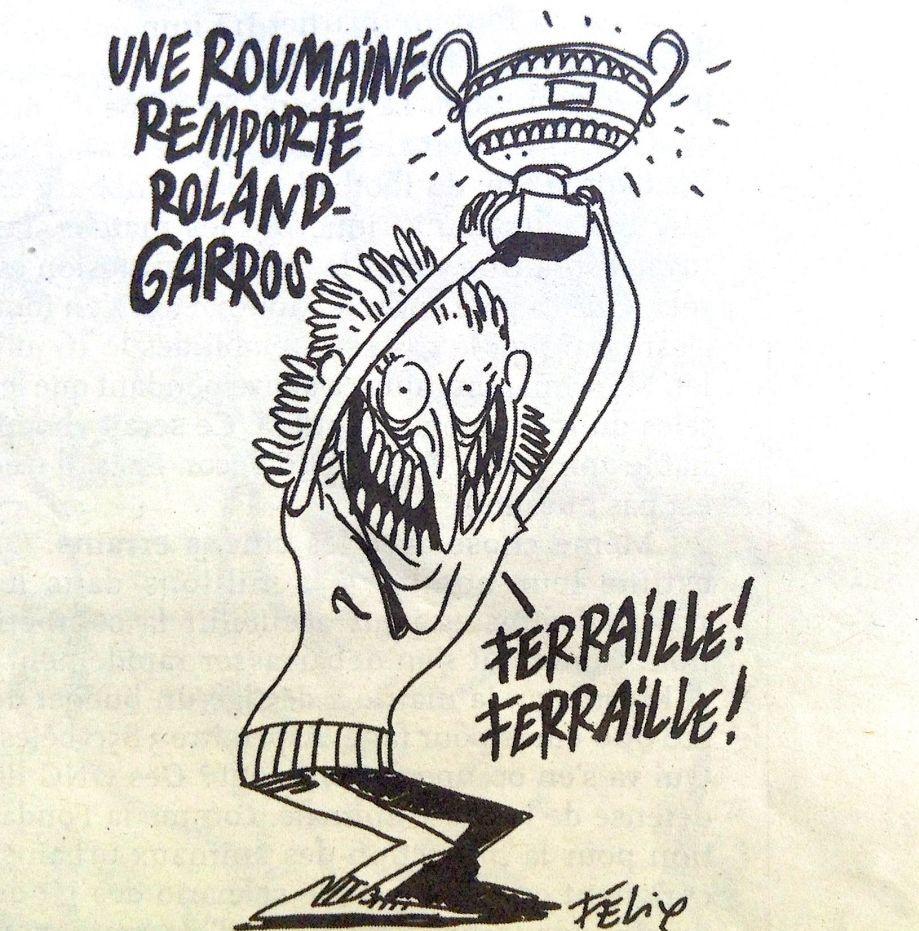 CaricaturSimona Halepă