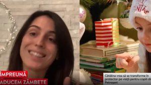 """O tânără din Petroșani ajută copiii fără noroc, dar nu doar de Crăciun: """"Încep această campanie pentru tot restul vieții mele"""""""