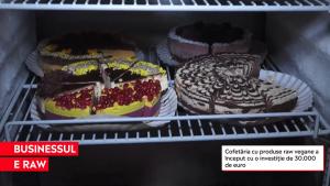 Cofetăria cu produse raw vegane care a început de la o investiție de 30.000 de euro. Preparate adaptate la nevoile clienților