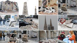 Cutremur de 6,2 în Croația, soldat cu 6 morți și 20 de răniți. Mai multe clădiri s-au prăbușit. FOTO și VIDEO