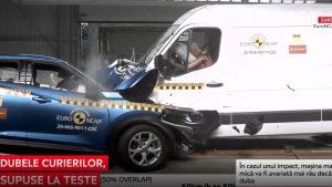 Cât de sigure sunt dubele de livrări în cazul unui impact. EuroNCAP le-a testat pe cele mai populare din Europa