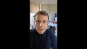 Emmanuel Macron nu se simte prea bine. Cum crede președintele Franței că a luat virusul
