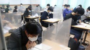 Peste 500.000 de tineri din Coreea de Sud dau examenul vieții, în plină pandemie. Măsurile luate de Guvern ca să nu apară niciun deranj