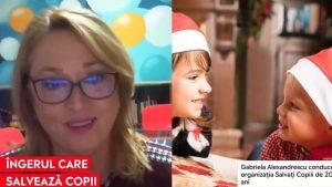 Ce o bucură cel mai mult pe Gabriela Alexandrescu, directorul Salvați Copiii România, atunci când ajută sute de copii