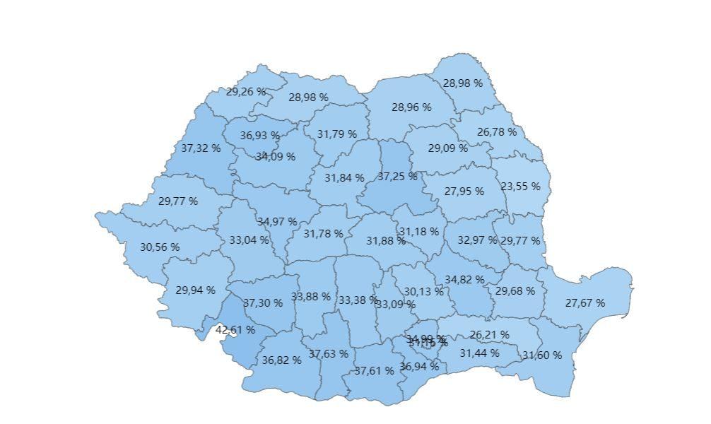 harta-prezenta-vot-alegeri-parlamentare-2020