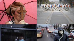 Imaginile anului 2020 în România. GALERIE FOTO