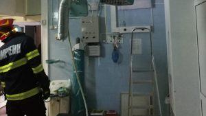 Un incendiu a izbucnit în blocul operator al Institutului de Urologie Cluj. Un pacient era în operație