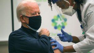 Joe Biden s-a vaccinat anti-COVID-19