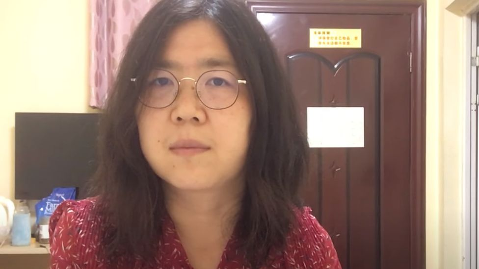 """O jurnalistă a fost condamnată la închisoare pentru că """"a răspândit informaţii răutăcioase"""" despre apariția coronavirusului în Wuhan"""