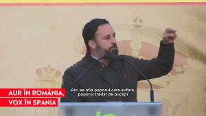 VOX, a treia forță politică din Spania, are valori similare cu cele ale partidului AUR