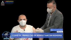 Marius Tucă s-a vaccinat în direct. Medicul Adrian Marinescu i-a administrat vaccinul gripal